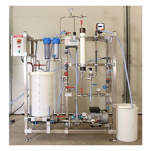 Desalinization by reverse osmosis - Pignat com