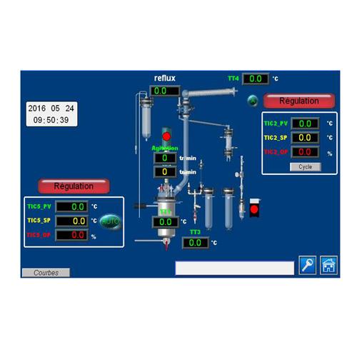 Réacteur polyvalent manuel pour enseignement