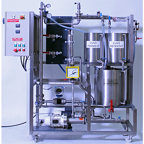 Machine enseignement ultrafiltration alimentaire