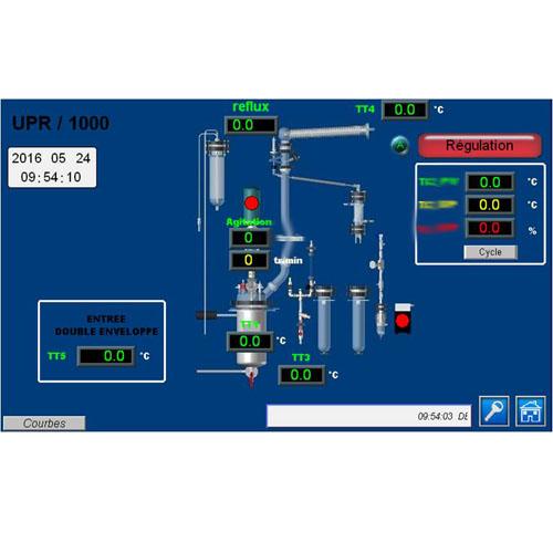 Réacteur polyvalent supervision