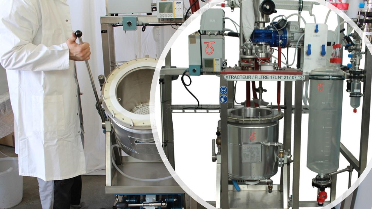 extracteur filtre pour zone ATEX interne