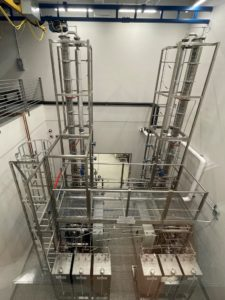 distillation column doble